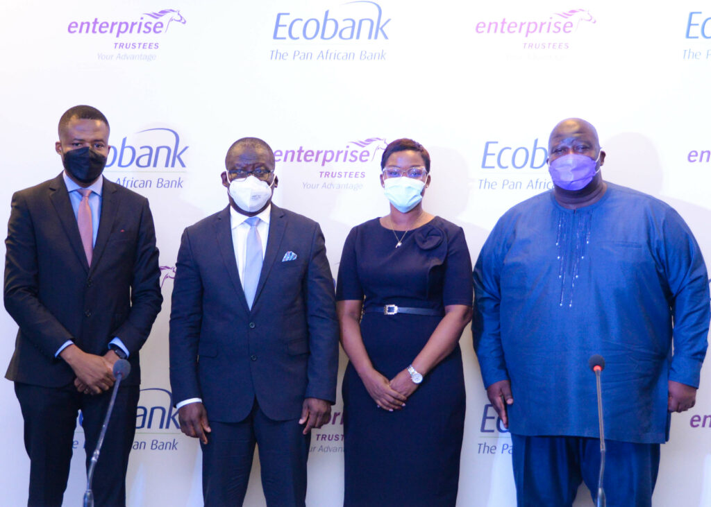 ECOBANK GHANA-ENTERPRISE TRUSTEES SIGN A PARTNERSHIP AGREEMENT TO DELIVER PENSION-BACKED MORTGAGE TO GHANAIAN WORKERS